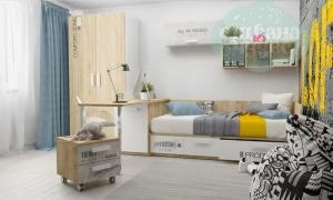 Детская комната Клюква Junior, print Loft
