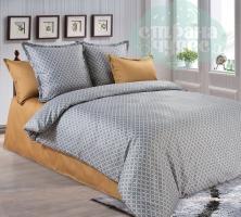 Комплект постельного белья Королевское искушение Амарок Коричневый