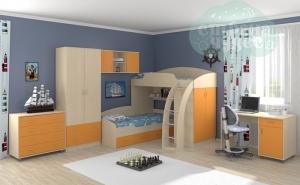 Комната ФМ Соня, оранжевая