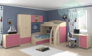 Комната ФМ Соня, розовый