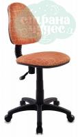 Кресло детское Бюрократ KD-4/GIRAFFE оранжевый жираф