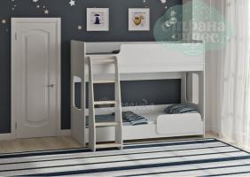 Двухъярусная кровать Легенда 42.4.2, белый