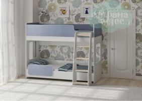 Двухъярусная кровать Легенда 42.4.2, голубой