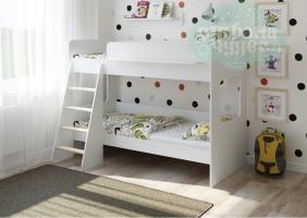 Двухъярусная кровать Легенда 25.1, белая