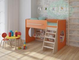 Кровать-чердак Легенда 22.1, оранжевый