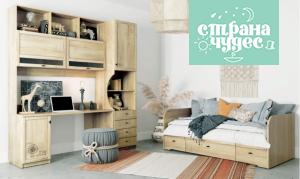 Детская комната Klюkva Calypso Wood, дуб галифакс натуральный