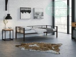Кровать Арга, коричневая