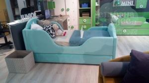 Кровать Sherlock Nemo Velutto 44
