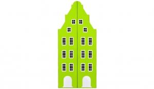 Шкаф-домик двустворчатый Амстердам 1, лайм