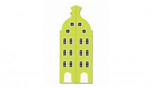 Шкаф-домик двустворчатый Амстердам 2, лайм