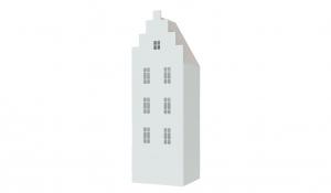 Шкаф-домик Амстердам 1, белый