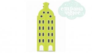 Шкаф-домик двустворчатый Амстердам 2XL, лайм