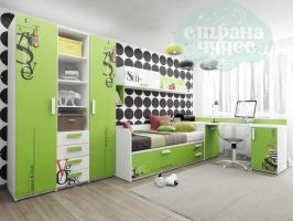 Детская комната Клюква Junior, print Voque