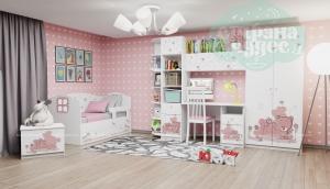 Комната детская Klюkva Baby Мишка Girl