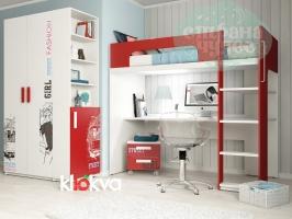 Детская комната Klюkva Junior Красный Чили