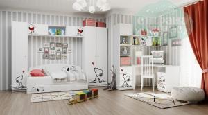 Комната детская Klюkva Baby Снупи