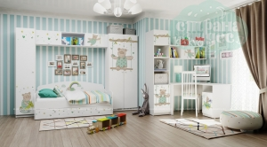 Комната детская Klюkva Baby Потапыч