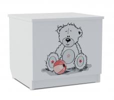 Тумба для игрушек Klюkva Baby T0, Тедди