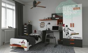 Детская комната Клюква Junior, print Football