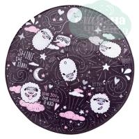 Ковер в детскую Little Star, D93 см