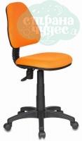 Кресло детское Бюрократ KD-4/TW-96-1 оранжевый
