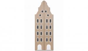 Шкаф-домик двустворчатый Амстердам 1XL, имбирь