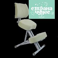 Стул коленный Олимп 2, толстые подушки, оливковый