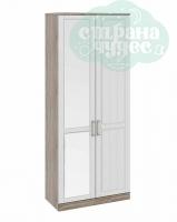 Шкаф для одежды ТриЯ Прованс 1 с зеркальной дверью