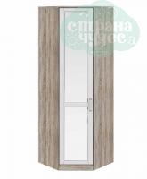 Шкаф угловой ТриЯ Прованс с зеркальной дверью