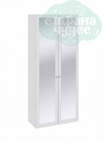 Шкаф для одежды с зеркальными дверьми ТриЯ Ривьера