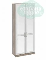 Шкаф для одежды ТриЯ Прованс с зеркальными дверьми
