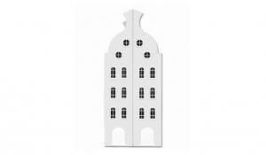 Шкаф-домик двустворчатый Амстердам 2, белый
