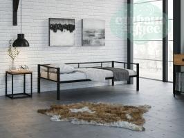 Кровать Арга, черная