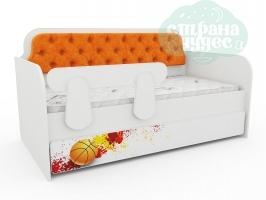 Кровать-диван Тридевятое Царство, апельсин