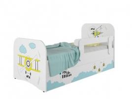 Кровать детская Klюkva Baby KE, Стандарт, с ящиками, Авиа