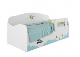 Кровать-диван детская Klюkva Baby KS, с ящиком,  Авиа