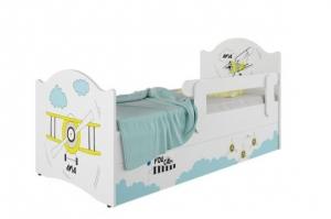 Кровать детская Klюkva Baby KE, Эксклюзив с ящиками,  Авиа