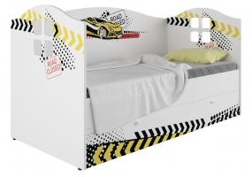 Кровать-домик детская Klюkva Baby KD16, 160х80 см, Авто