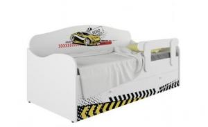 Кровать-диван детская Klюkva Baby KS, с ящиком, Авто