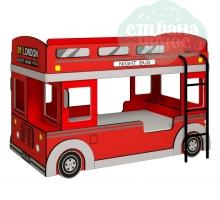 Автобус Глазов-мебель красный