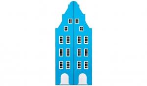 Шкаф-домик двустворчатый Амстердам 1, топаз