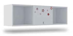 Полка с 1 фасадом Klюkva Baby A13, Тедди