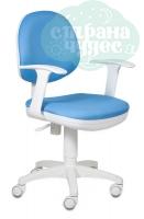 Кресло Бюрократ CH-W356AXSN/15-107 голубой