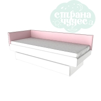 Чехол на изголовье для кроватей, розовые