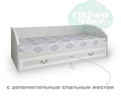 """Кровать 38 Попугаев """"Классика"""" с дополнительным спальным местом"""