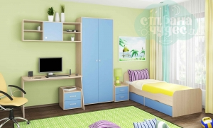 Комната ФМ Дельта V.10, голубая
