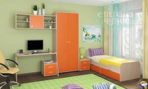 Комната ФМ Дельта V.10, оранжевая