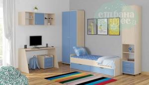 Комната ФМ Дельта V.13, голубая