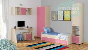 Комната ФМ Дельта V.13, розовая
