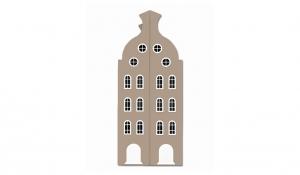 Шкаф-домик двустворчатый Амстердам 2, имбирь